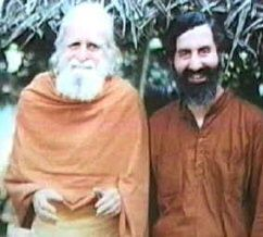 Father Bede Griffiths and Brother Wayne Teasdale
